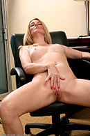 Getting naked at the office is only one of her specialties from All Over 30