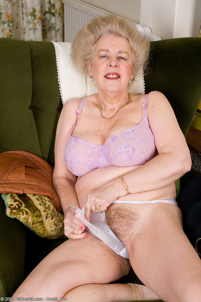 Really old grey granny