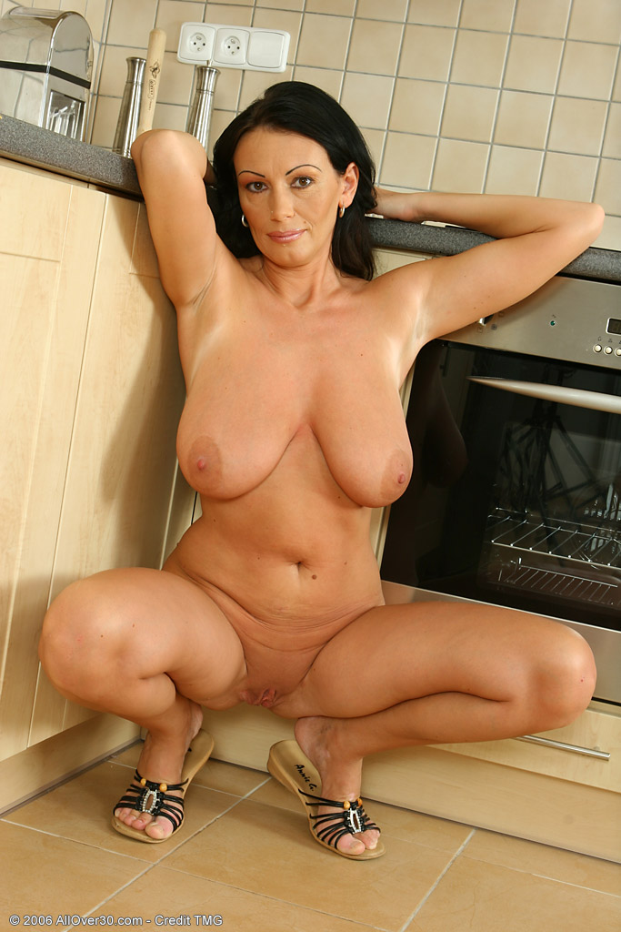 Black haired milfs