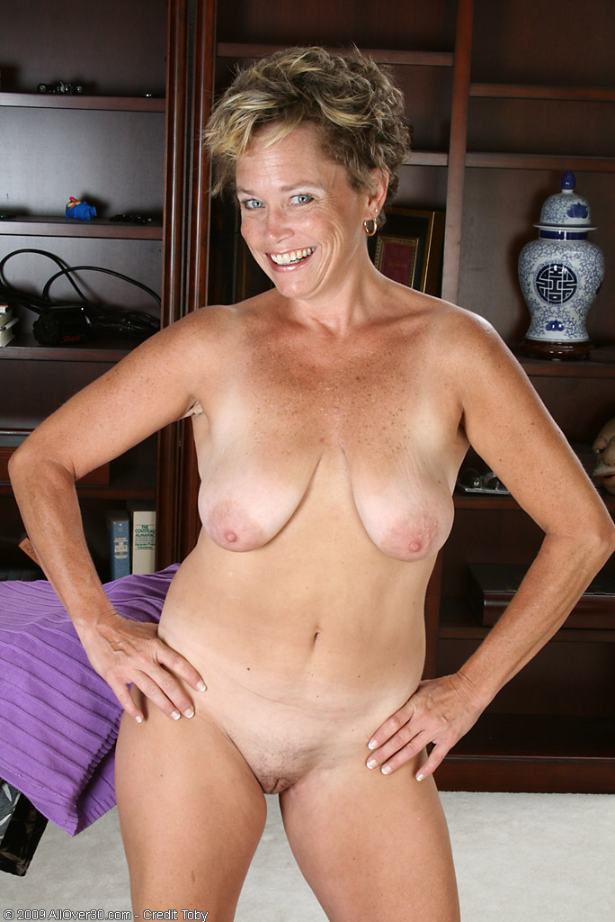 Mom Shows Her Big Tits