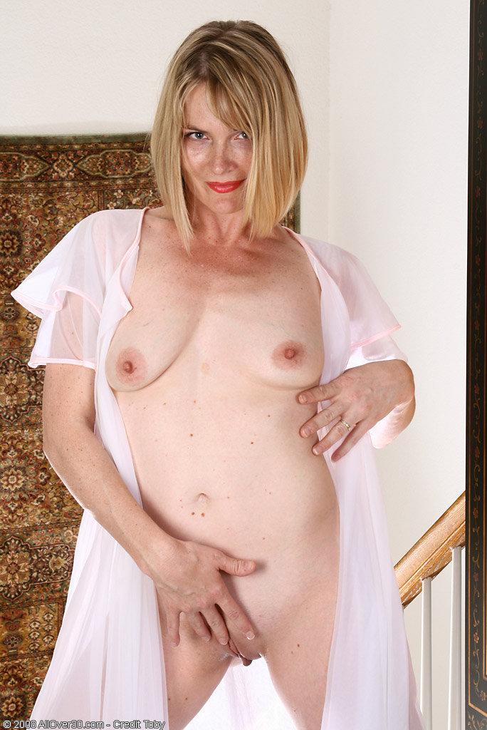 Mature wife wearing see through lingerie
