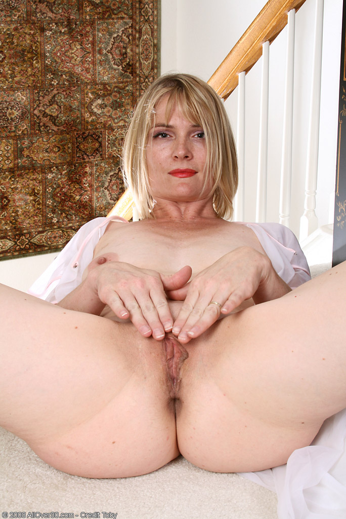 Women tits mature through big see