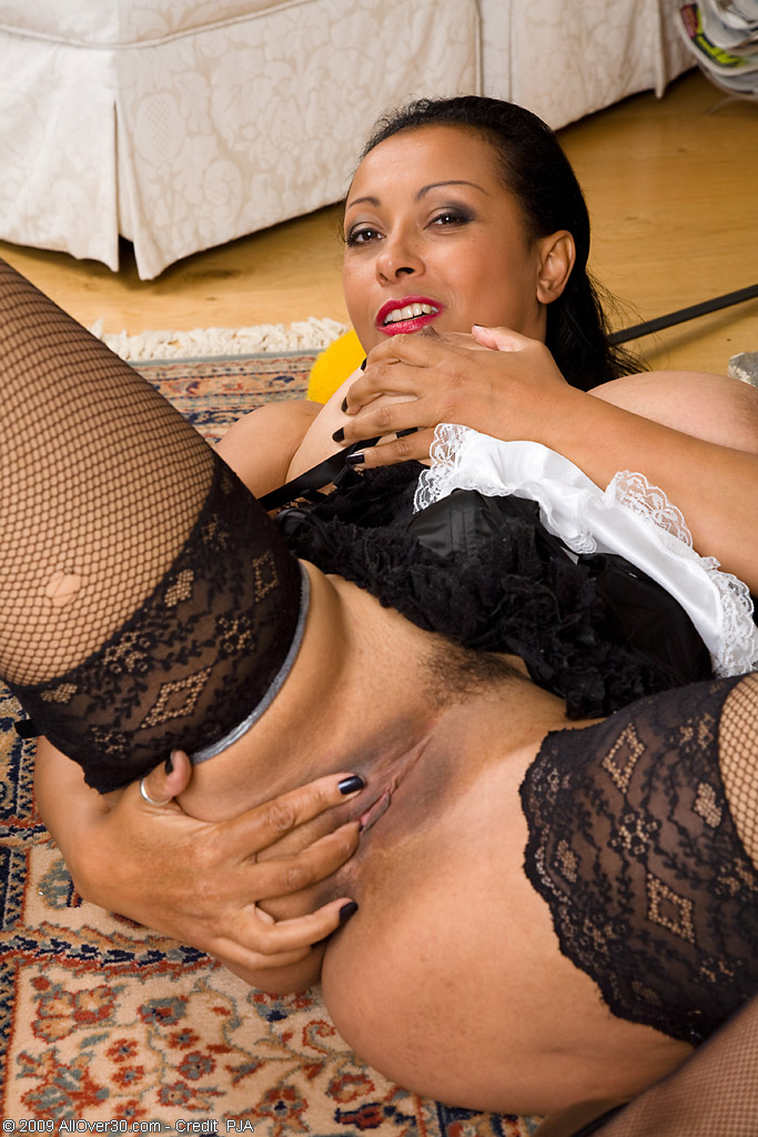 busty milf naked maid
