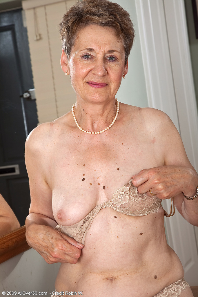 Very Nude old women tits share your
