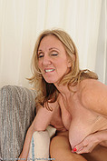 Jenna Covelli sucks some cock from All Over 30