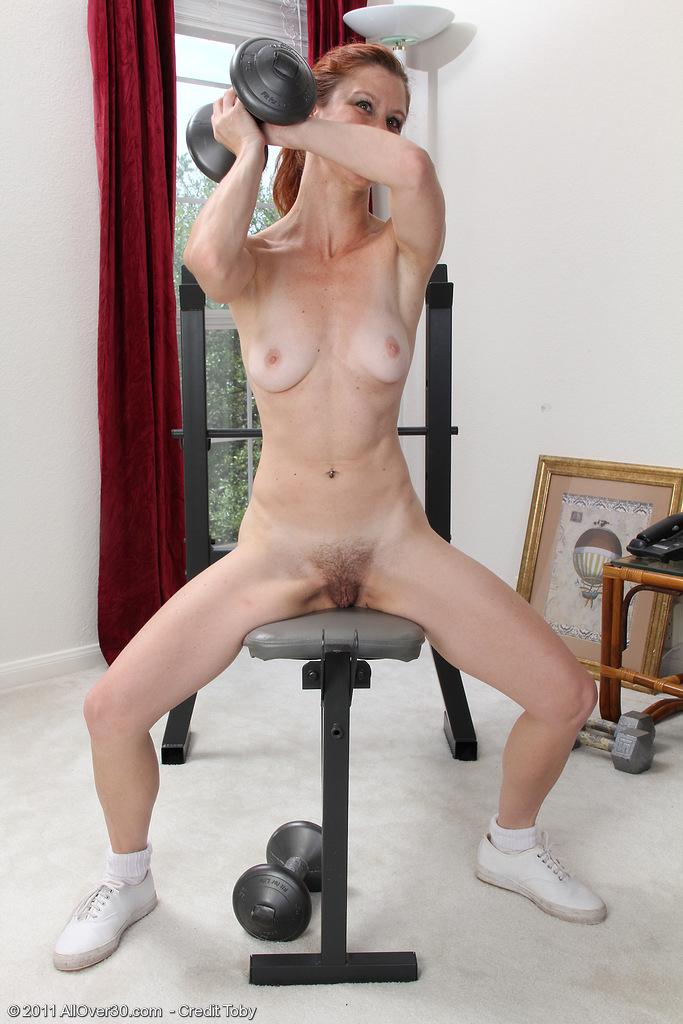 redheaded milf jessica adams workouts pichunter