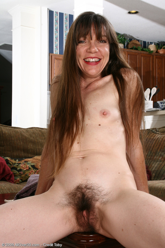 Was skinny naked hairy brunette will
