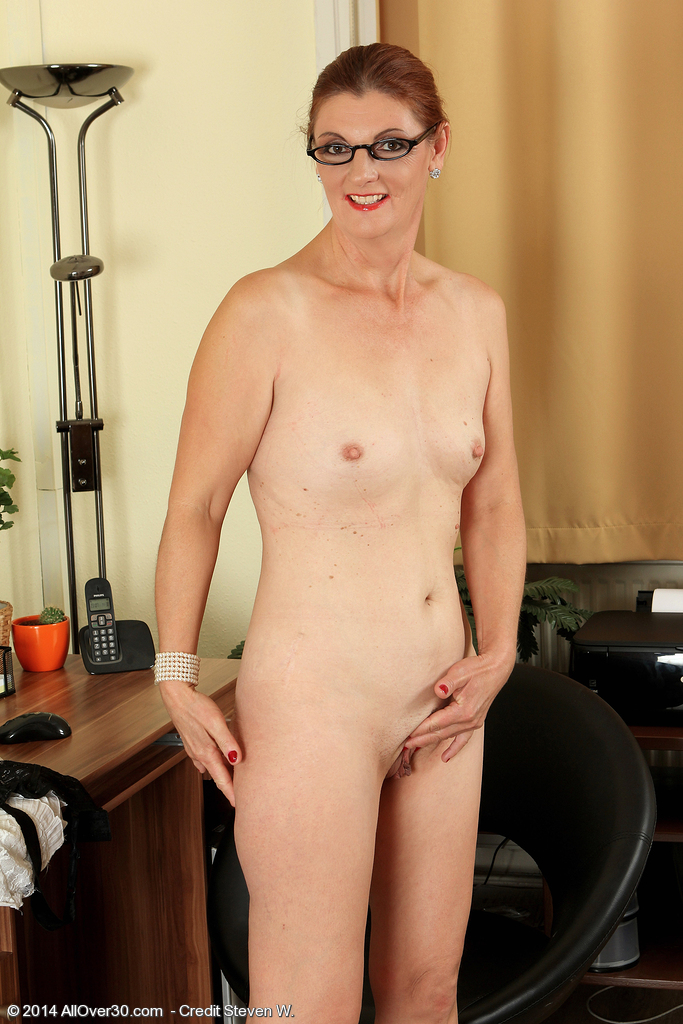 Over 50 milf glasses nude