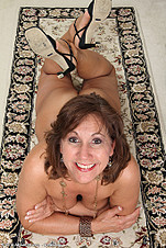 Want to see Lynns 53 YO pussy from All Over 30