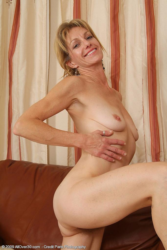 Hostess in pantyhose
