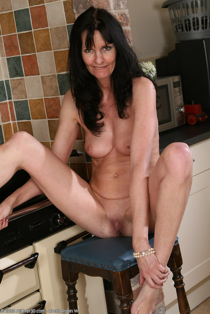 long haired mature nude
