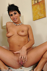 Sophia Bella uses beads on her milf pussy from All Over 30