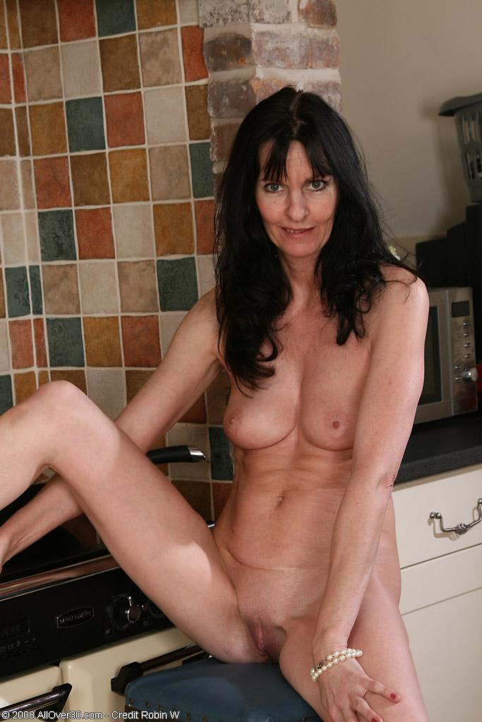 Skinny Milf Brunette