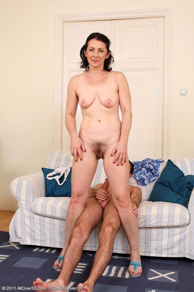 Wife strip show