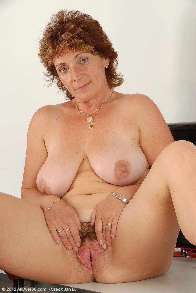 Mature hot dress nude