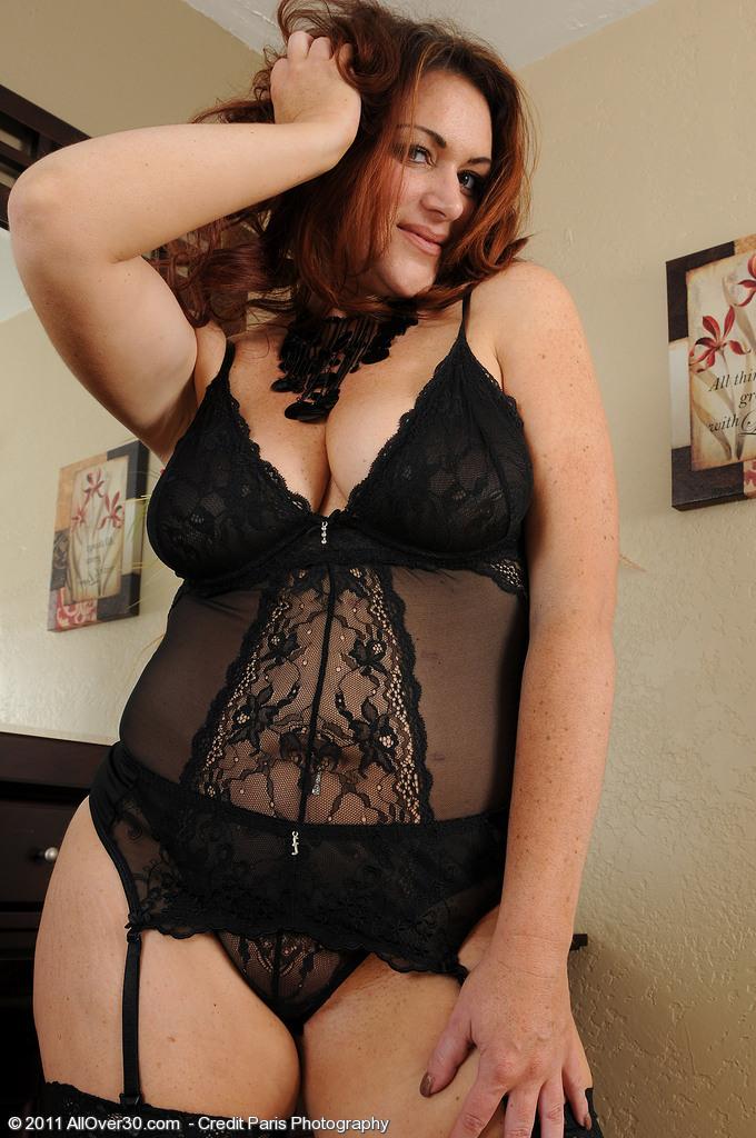 bbw milf lingerie